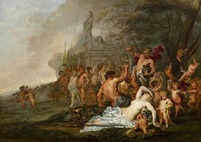 Painting - The Golden Era, Aetas Aurea by Gysbrecht Thys
