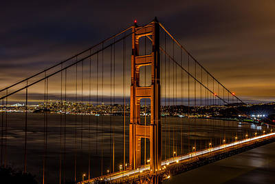 The Golden Gate Bridge Art Print by Albert Mendez