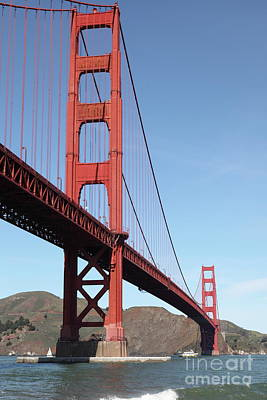 Photograph - The Golden Gate Bridge At Fort Point 5d21477 by San Francisco Art and Photography
