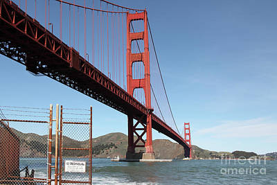 Photograph - The Golden Gate Bridge At Fort Point 5d21478 by San Francisco Art and Photography