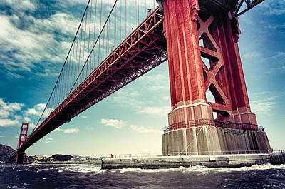 Photograph - The Golden Gate by Radek Spanninger