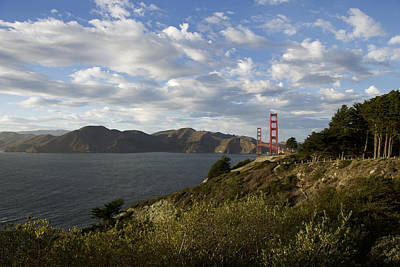 Photograph - The Golden Gate To The Bay by Chris Alberding