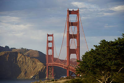 Photograph - The Golden Gate Up Close by Chris Alberding
