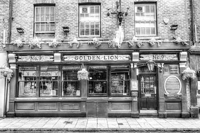 Photograph - The Golden Lion Pub York by David Pyatt