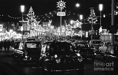 Winter Animals Rights Managed Images - The Golden Mile in Blackpool England, 1966 Royalty-Free Image by The Harrington Collection