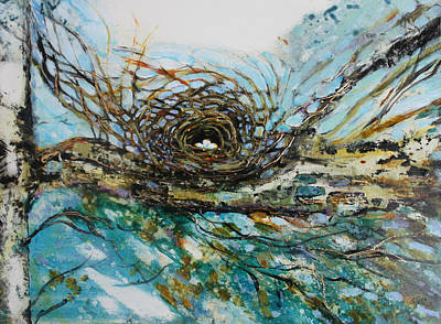 Painting - The Golden Nest by Christiane Kingsley