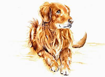 Painting - The Golden Oldie by Debra Hall