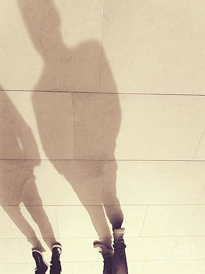 Photograph - The Golden Path - Shadows by Rebecca Harman