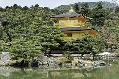 Photograph - The Golden Pavilion by Alan Toepfer