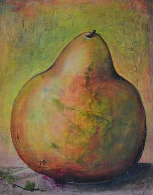 Painting - The Golden Pear by Rosemary Healy
