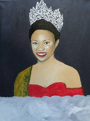 Painting - The Golden Queen  by Angelo Thomas