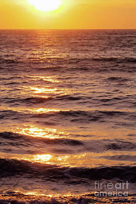 Photograph - The Golden Sea by Victor K
