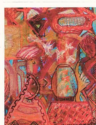 The Goldfish Bowl Art Print by Anne-Elizabeth Whiteway