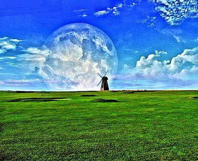 Golf Mixed Media - The Golf Field by Zin Shades