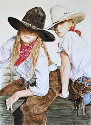 Gun Barrel Painting - The Good And The Bad # 2 by Traci Goebel
