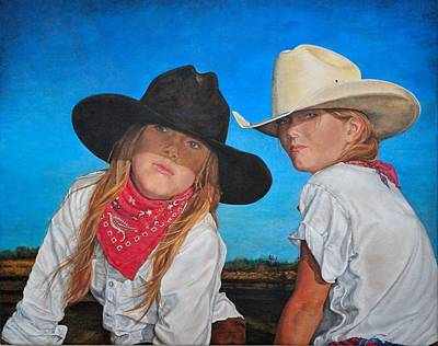 Painting - The Good And The Bad by Traci Goebel