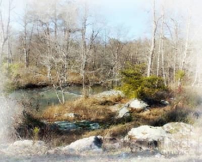 Baptizing Digital Art - The Good Old Way by Anita Faye