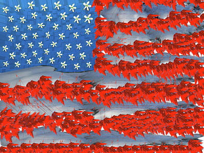 4th July Digital Art - The Good Ole Red, White, And Blue by Patrick Beamish
