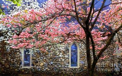 The Good Shepherd - Milford In Spring Art Print by Janine Riley