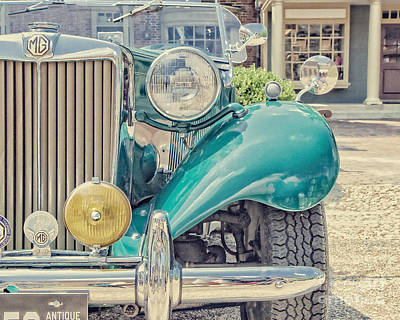 Vintage Mg Photograph - The Good Side by Emily Kay