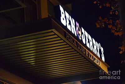 Ben And Jerrys Photograph - The Good Stuff by LKB Art and Photography