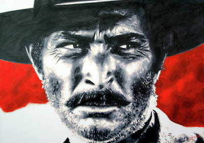 Painting - The Good The Bad And The Ugly by Hood alias Ludzska