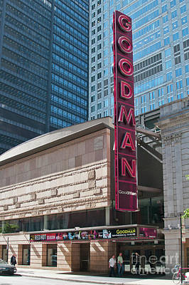 Photograph - The Goodman Theater by David Levin