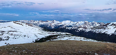 The Gore Range At Sunrise - Rocky Mountain National Park Art Print by Ronda Kimbrow