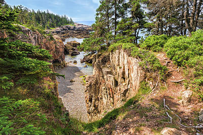 Photograph - The Gorge At Raven's Nest by John M Bailey