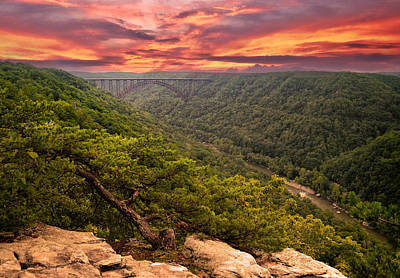 Landscape Photograph - The Gorge by Lj Lambert
