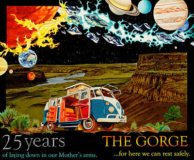The Gorge-one Sweet World Art Print