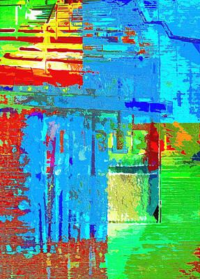 Digital Art - The Gospel Four by Payet Emmanuel
