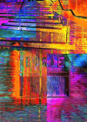 Digital Art - The Gospel One by Payet Emmanuel