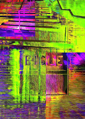 Digital Art - The Gospel Three by Payet Emmanuel