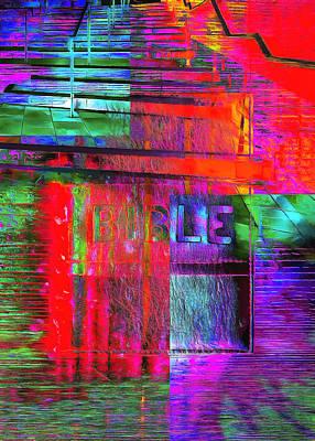 Digital Art - The Gospel Two by Payet Emmanuel