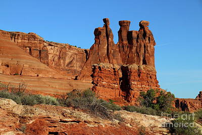 Photograph - The Gossips Of Red Rockcountry by Christiane Schulze Art And Photography