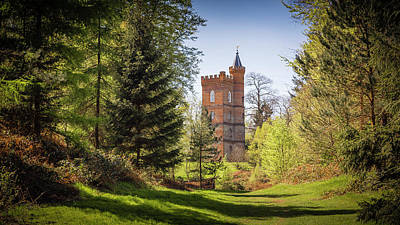 Photograph - The Gothic Tower - Painshill Park by Kelvin Trundle