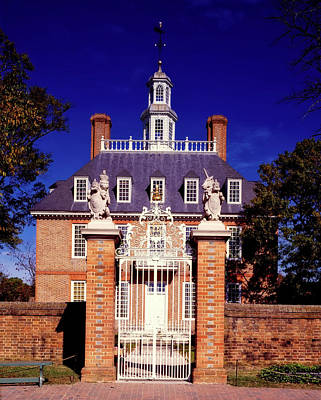 Photograph - The Governor's Palace - Williamsburg Virginia by L O C