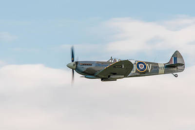 Photograph - The Grace Spitfire by Gary Eason