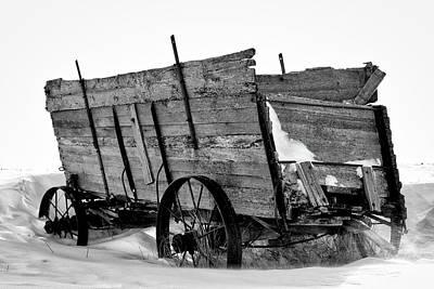 Photograph - The Grain Wagon by Bryan Smith