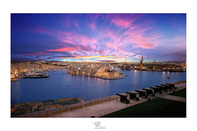 Photograph - The Gran Harbour by Adel Ferrito