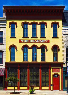 Photograph - The Granary Building by Shawna Rowe