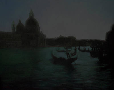 Painting - The Grand Canal Scene by Masami Iida