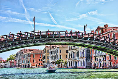 The Grand Canal Venice Italy Art Print