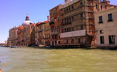 Photograph - The Grand Canal Venice by Rusty Woodward Gladdish