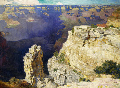 Park Scene Painting - The Grand Canyon by Edward Henry Potthast