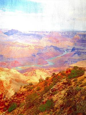 Digital Art - The Grand Canyon  by Frank Bright