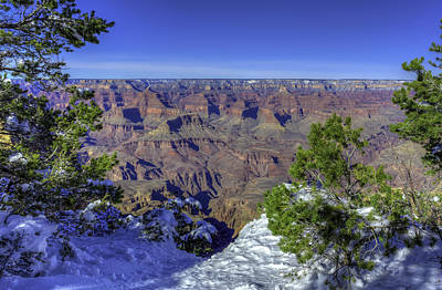 Photograph - The Grand Canyon by Harry B Brown