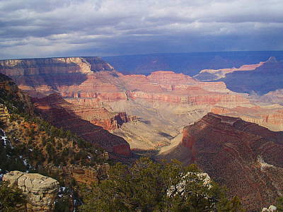 Art Print featuring the photograph The Grand Canyon by Marna Edwards Flavell