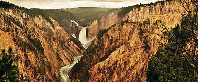 Photograph - The Grand Canyon Of The Yellowstone by Greg Norrell